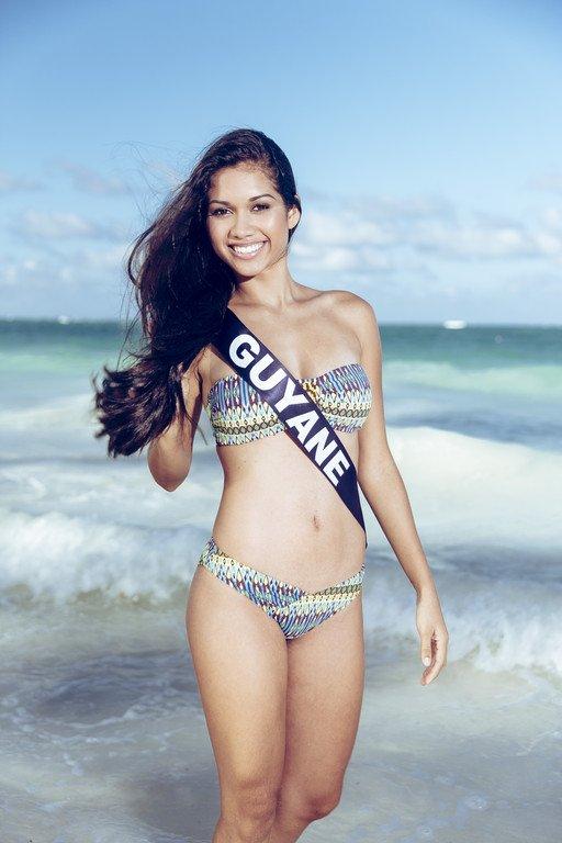 Miss Guyane - Photos Oficielles Maillot de Bain