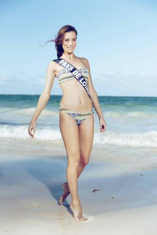 Miss Pays de Loire - Photos Oficielles Maillot de Bain