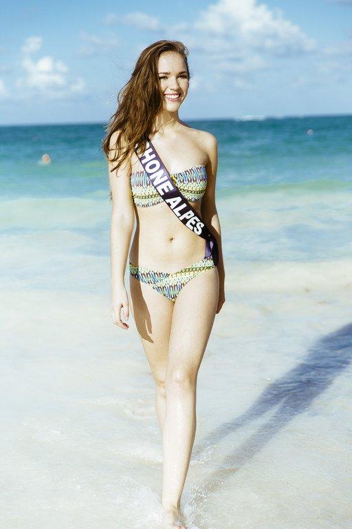 Miss Rhône-Alpes - Photos Oficielles Maillot de Bain