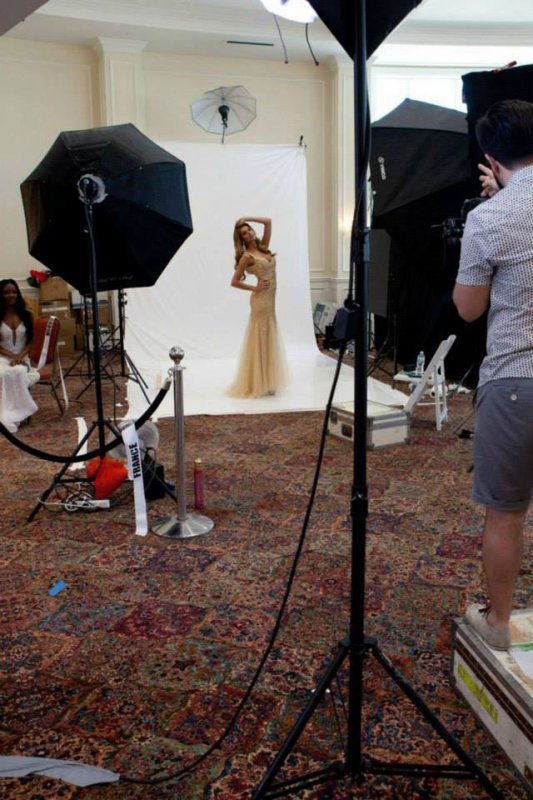 Shooting photos Miss Univers 2014
