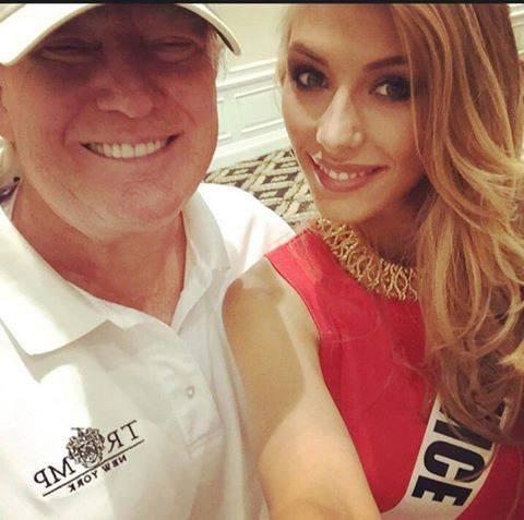 Avec les autres candidates - Miss Univers 2014