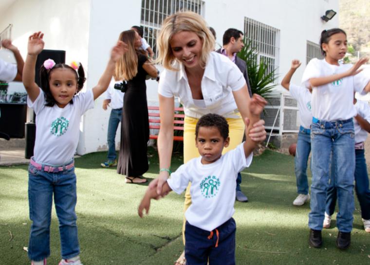 Sylvie et Camille au Venezuela