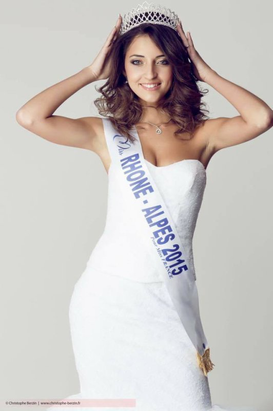 Photos officielles Miss Rhône-Alpes 2015