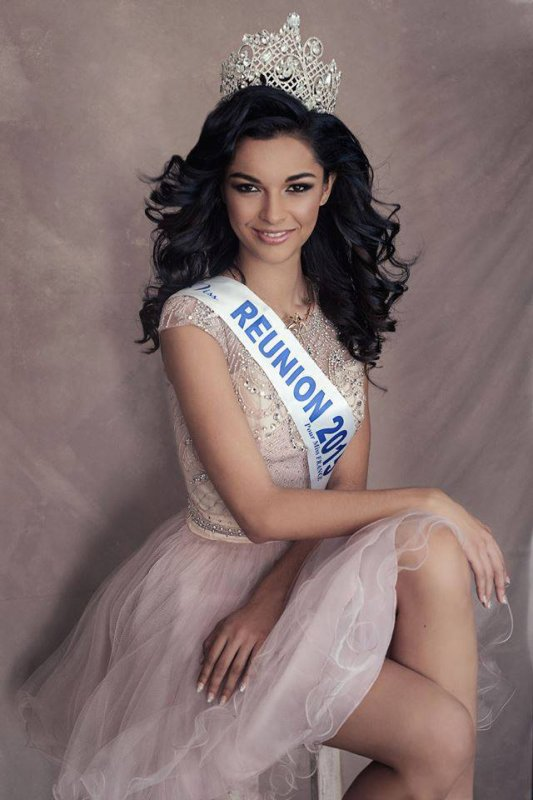Photos officielles Miss Réunion 2015