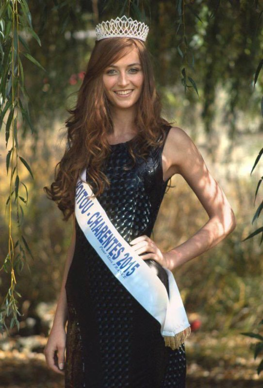 Photos officielles Miss Poitou-Charentes 2015