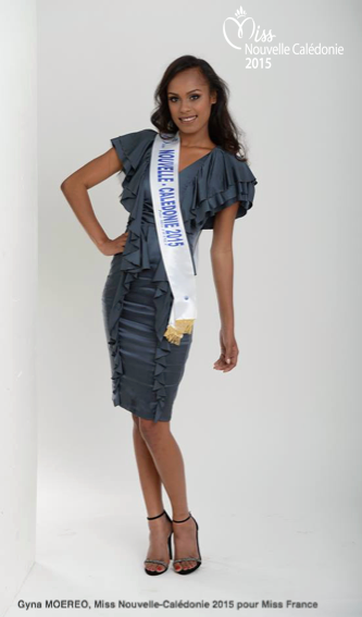Photos officielles Miss Nouvelle-Calédonie 2015