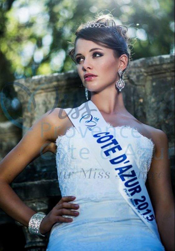 Photos officielles Miss Côte d'Azur 2015