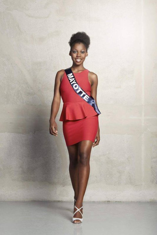 Photos officielles Miss Mayotte 2015