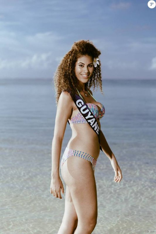Photos officielles Miss Guyane 2015