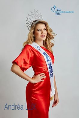 Photos officielle Miss Nouvelle-Calédonie 2016