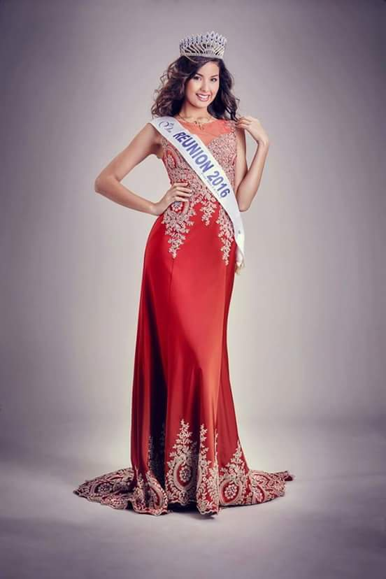 Photos officielles Miss Réunion 2016