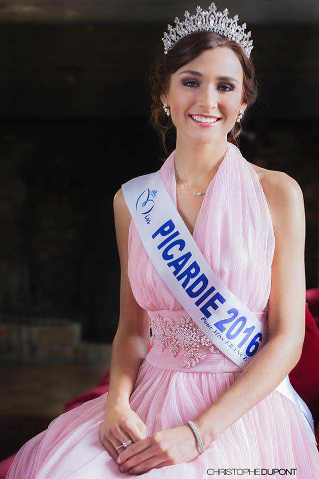 Photo officielle Miss Picardie 2016
