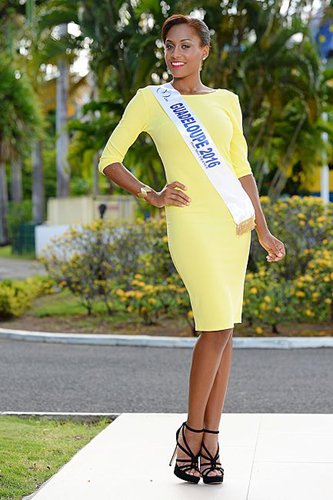 Photo officielle Miss Guadeloupe 2016