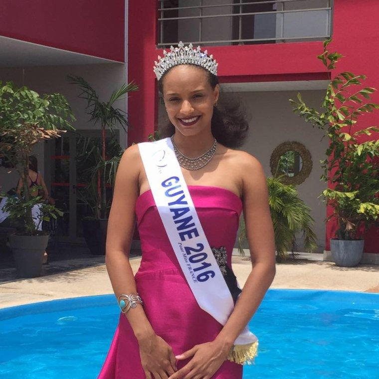 Photo officielle Miss Guyane 2016