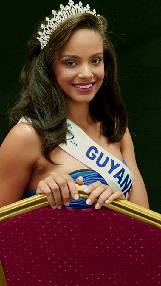 Photo officielle Miss Guyane 2016
