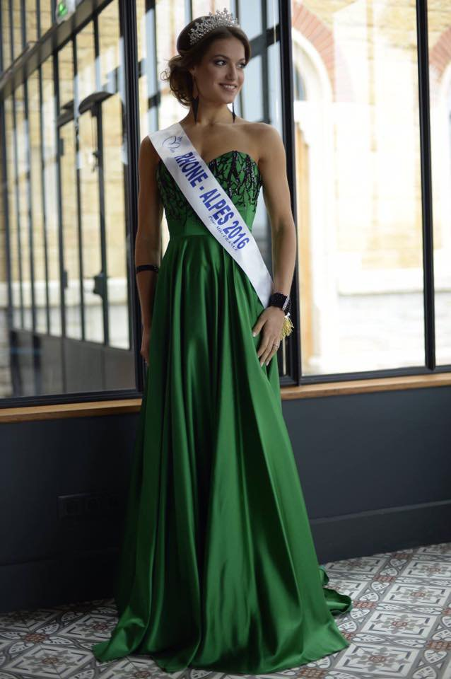 Photo officielle Miss Rhône-Alpes 2016