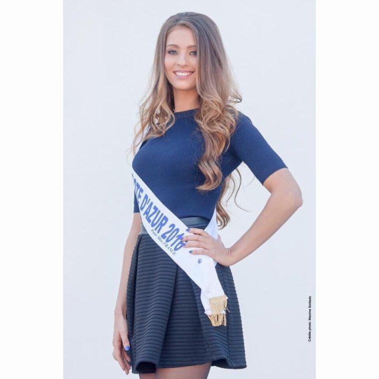 Photo officielle Miss Côte d'Azur 2016