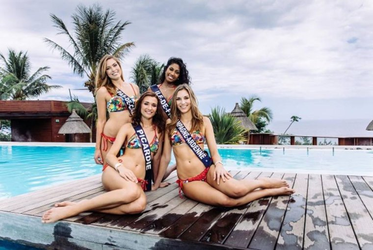 Préparation à Miss France 2017