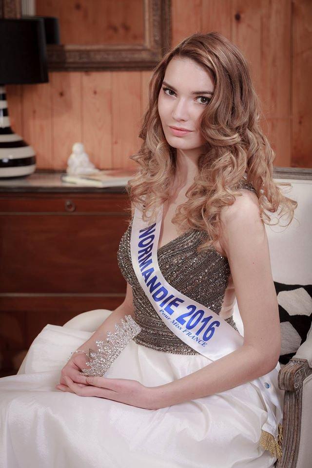 Photos officielles Miss Normandie 2016