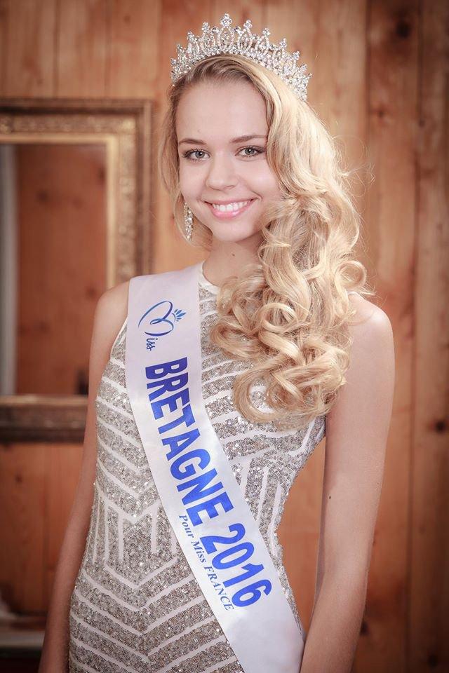 Photo officielle Miss Bretagne 2016