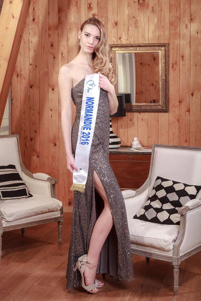 Photo officielle Miss Normandie 2016