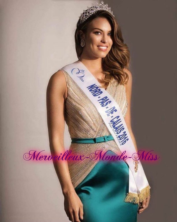 Photo officielle Miss Nord-Pas-de-Calais 2016