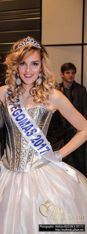 Interview de Pauline Pourchaire - Miss Pegomas 2017 ♛