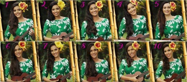 Candidates à Miss Tahiti 2017