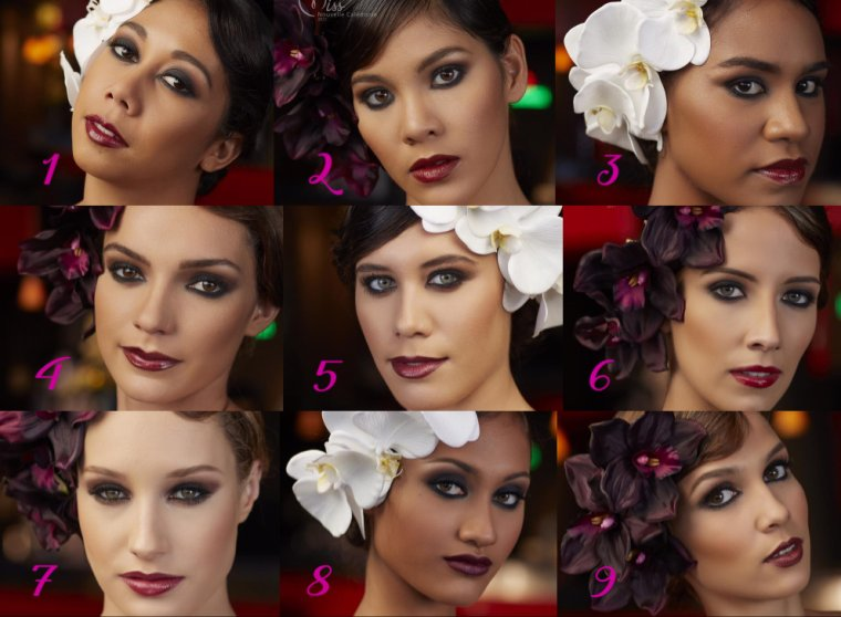 Candidates à Miss Nouvelle-Calédonie 2017