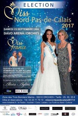 Candidates à Miss Nord-Pas-de-Calais 2017