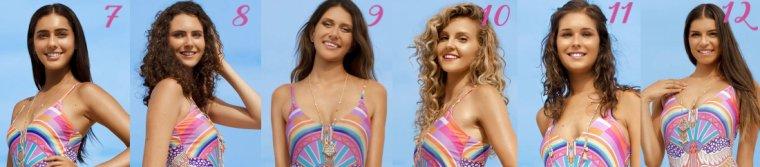 Candidates à Miss Côte d'Azur 2017