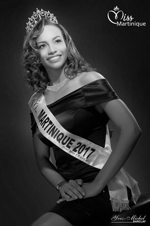 Photo officielle Miss Martinique 2017