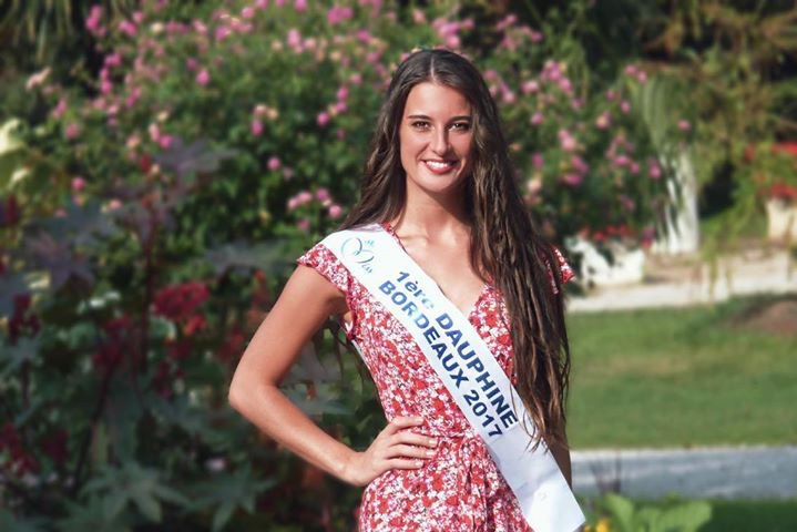 Interview de Andréa Bordes - 1ère Dauphine de Miss Bordeaux 2017 ♛