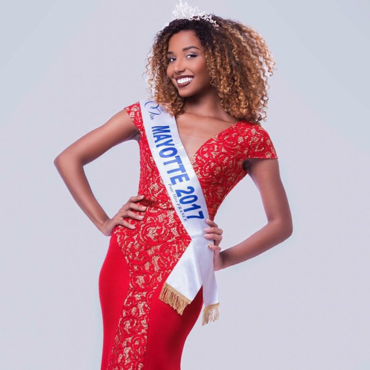 Photo officielle Miss Mayotte 2017