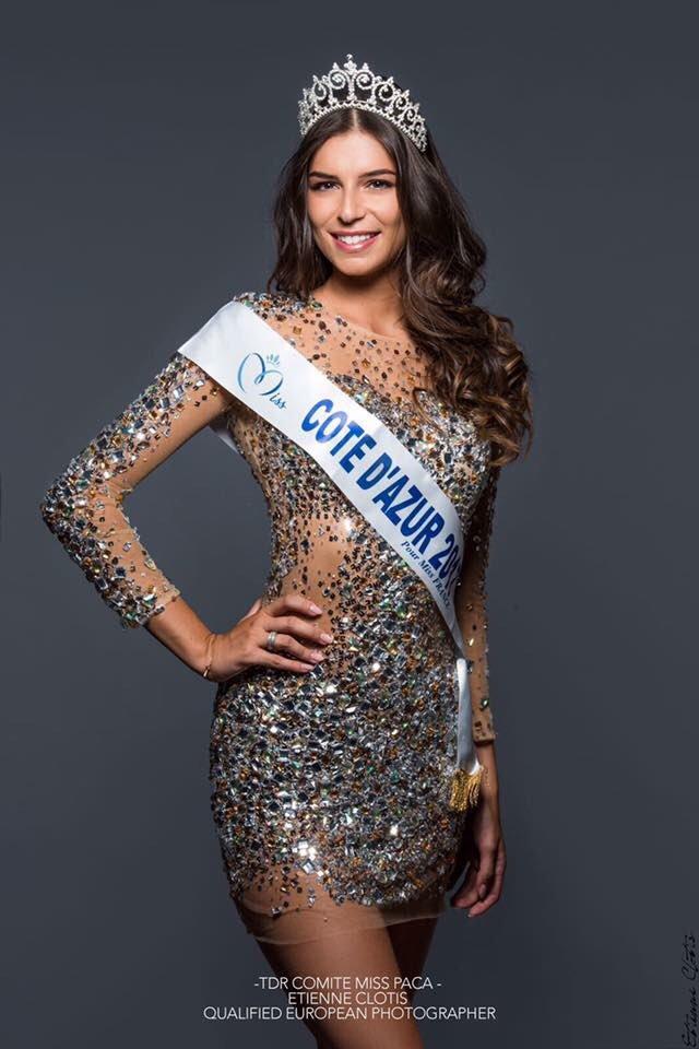 Photo officielle Miss Côte d'Azur 2017