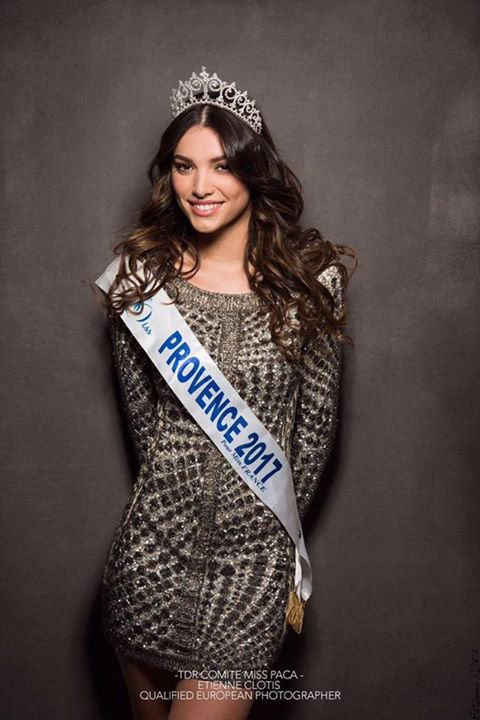 Photo officielle Miss Provence 2017