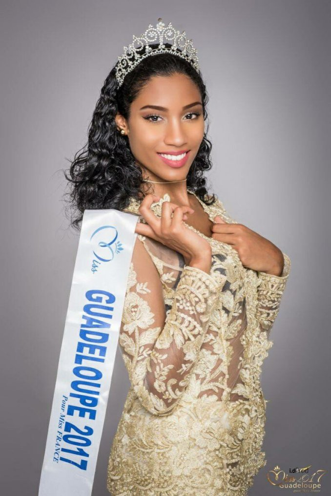 Photo officielle Miss Guadeloupe 2017