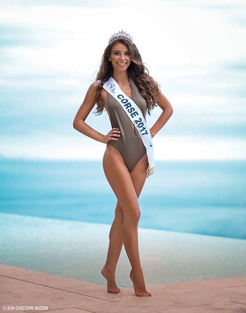 Photo officielle Miss Corse 2017
