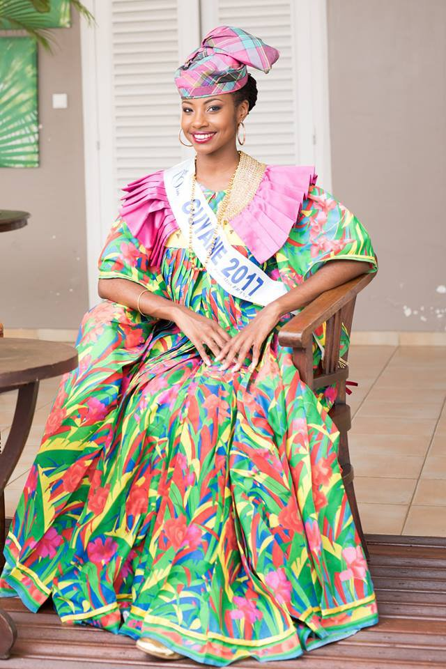 Photo officielle Miss Guyane 2017