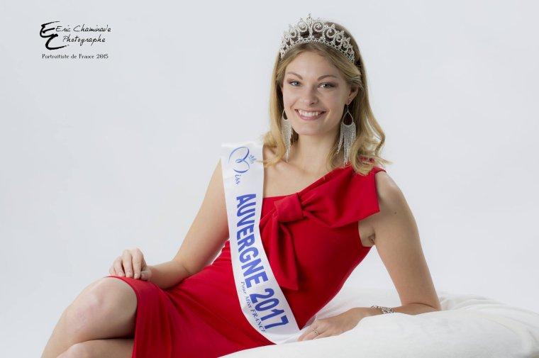 Photos officielles Miss Auvergne 2017