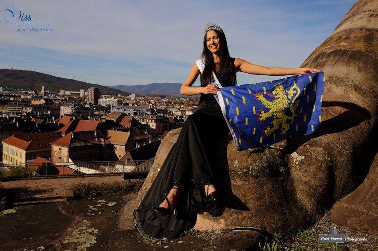Photos officielles Miss Franche-Comté 2017