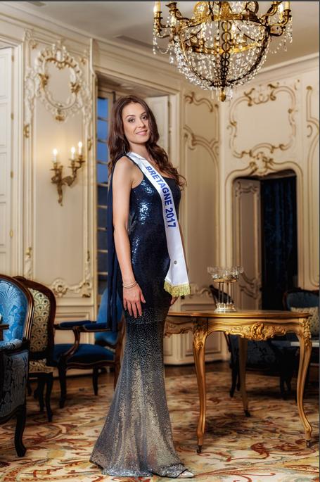 Photo officielle Miss Bretagne 2017