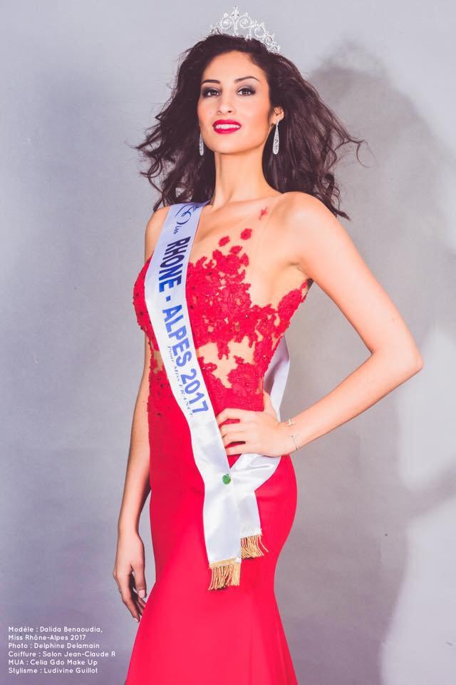 Photo officielle Miss Rhône-Alpes 2017