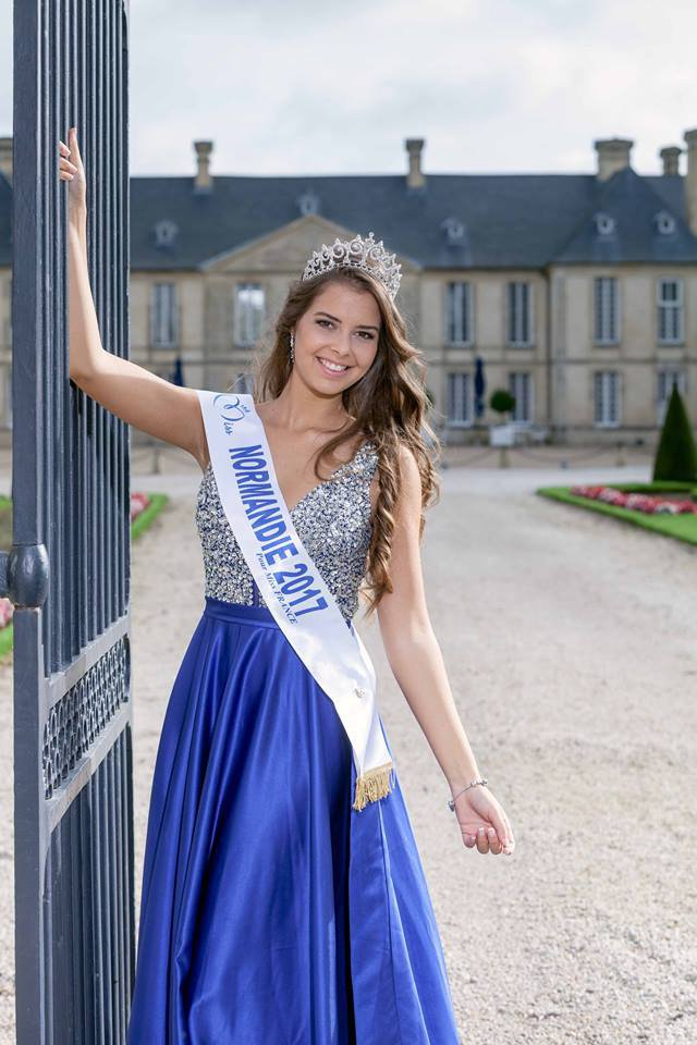 Photo officielle Miss Normandie 2017