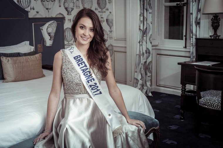 Photo officielle Miss Bretagne 2017