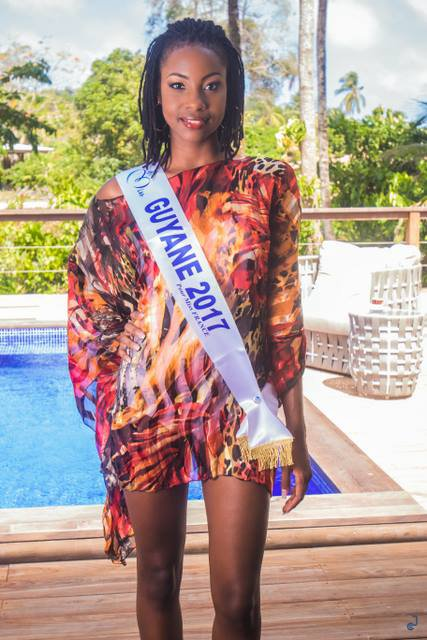 Photos officielles Miss Guyane 2017