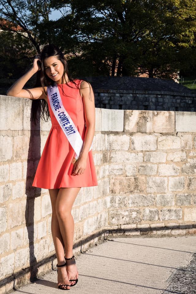 Photo officielle Miss Franche-Comté 2017