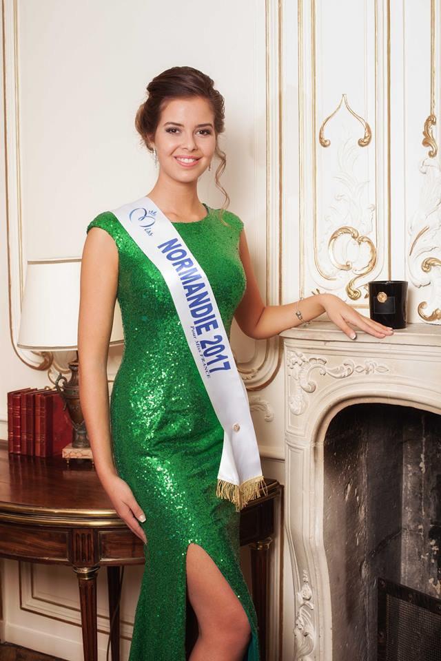 Photo officielle Miss Normandie 2017