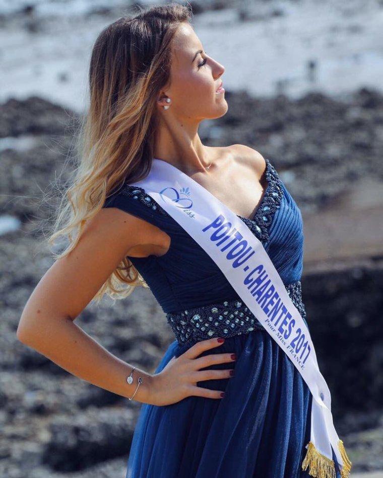 Photo officielle Miss Poitou-Charentes 2017