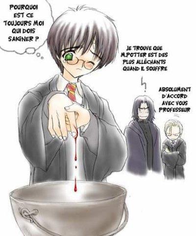 Une mignone petite histoire avec Harry Potter